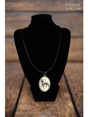 Cane Corso - necklace (silver plate) - 3439 - 34911