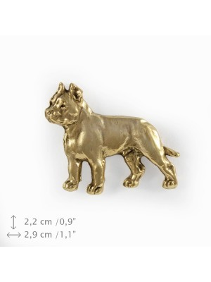 Cane Corso - pin (gold plating) - 1056 - 7739