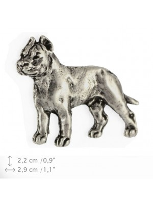 Cane Corso - pin (silver plate) - 441 - 25892