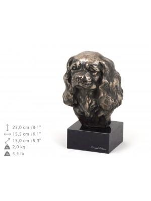 Cavalier King Charles Spaniel - figurine (bronze) - 196 - 9123