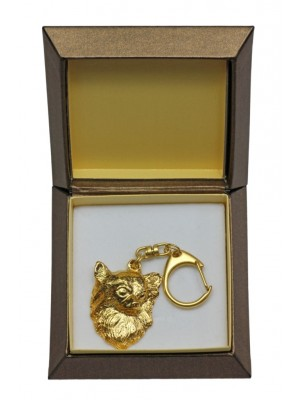 Chihuahua - keyring (gold plating) - 2443 - 27314