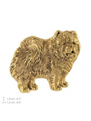 Chow Chow - pin (gold plating) - 2384 - 26148