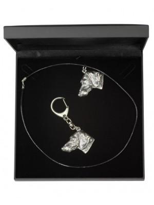 Dachshund - keyring (silver plate) - 1770 - 11487