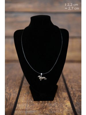 Dachshund - necklace (strap) - 3844 - 37199
