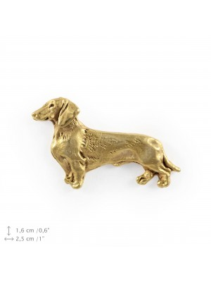 Dachshund - pin (gold plating) - 1064 - 7826