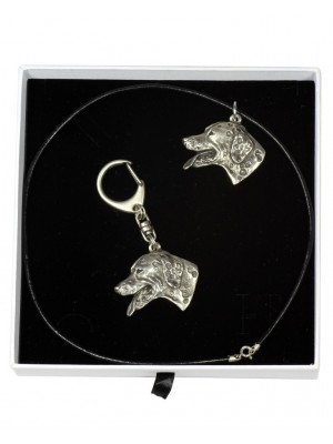 Dalmatian - keyring (silver plate) - 1934 - 14395