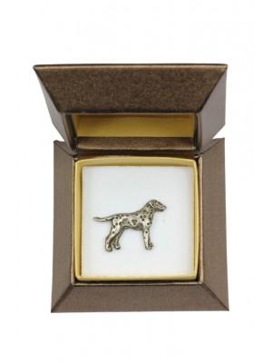 Dalmatian - pin (silver plate) - 2629 - 28910