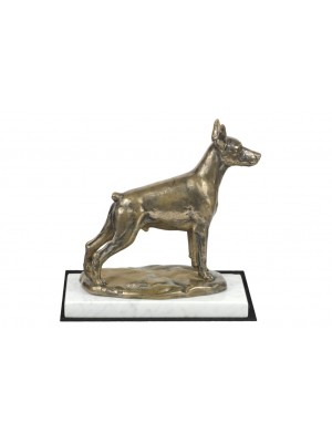 Doberman pincher - figurine (bronze) - 4609 - 41461