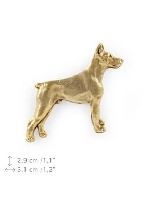 Doberman pincher - pin (gold plating) - 1080 - 7856