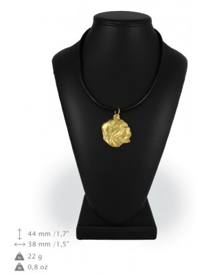 Dog de Bordeaux - necklace (gold plating) - 937 - 25391