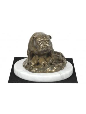 English Bulldog - figurine (bronze) - 4603 - 41431
