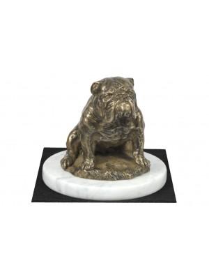 English Bulldog - figurine (bronze) - 4604 - 41436