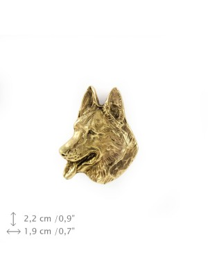 German Shepherd - pin (gold plating) - 1516 - 7896