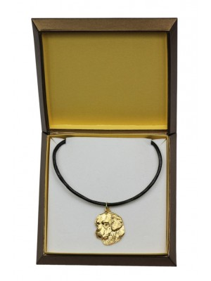Golden Retriever - necklace (gold plating) - 2465 - 27624