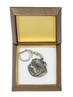Griffon - keyring (silver plate) - 2746 - 29865