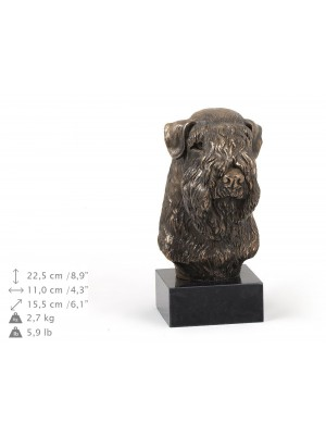 Irish Soft Coated Wheaten Terrier - figurine (bronze) - 314 - 9187