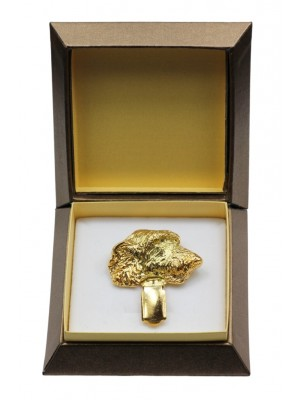 Irish Wolfhound - clip (gold plating) - 2602 - 28563