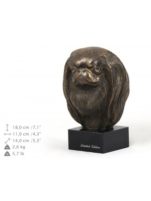 Japanese Chin - figurine (bronze) - 234 - 9153