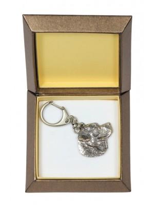 Labrador Retriever - keyring (silver plate) - 2760 - 29879