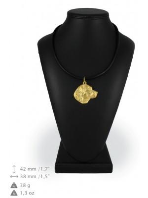 Labrador Retriever - necklace (gold plating) - 948 - 25420