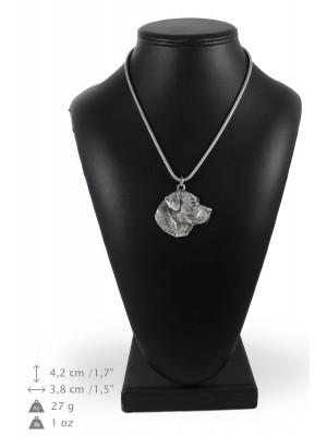 Labrador Retriever - necklace (silver cord) - 3191 - 33196