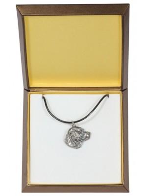 Labrador Retriever - necklace (silver plate) - 2947 - 31091