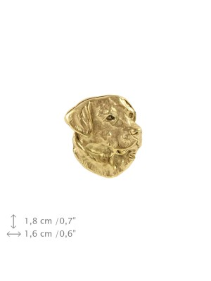 Labrador Retriever - pin (gold) - 1564 - 7563