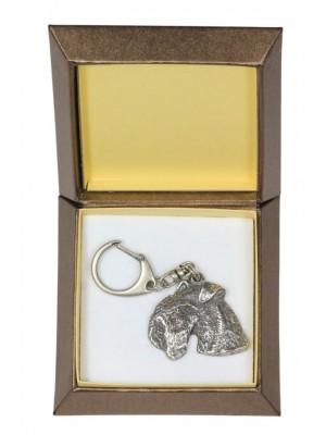 Lakeland Terrier - keyring (silver plate) - 2813 - 29936