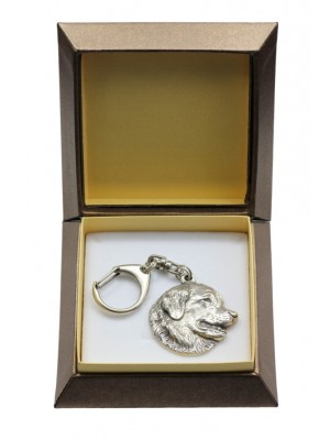 Leonberger - keyring (silver plate) - 2834 - 29958
