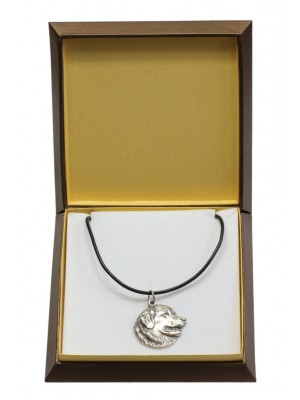 Leonberger - necklace (silver plate) - 3013 - 31163