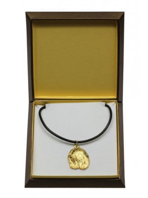 Lhasa Apso - necklace (gold plating) - 3064 - 31700