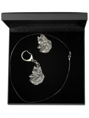 Malinois - keyring (silver plate) - 1783 - 11693