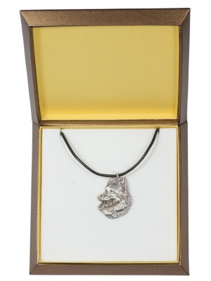 Malinois - necklace (silver plate) - 2938 - 31082