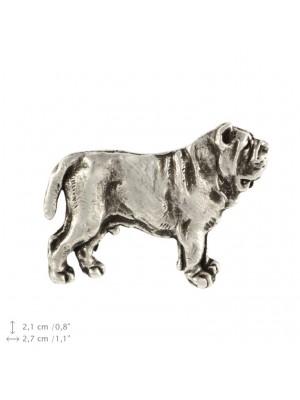 Neapolitan Mastiff - pin (silver plate) - 446 - 22223