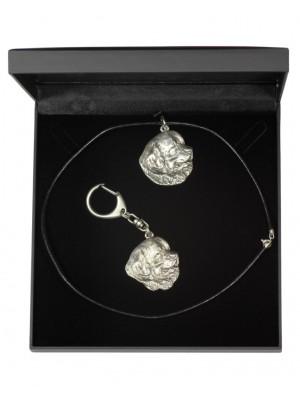 Newfoundland  - keyring (silver plate) - 1754 - 11230