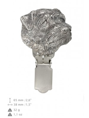 Norfolk Terrier - clip (silver plate) - 1578 - 26548