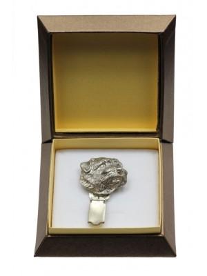 Norfolk Terrier - clip (silver plate) - 2579 - 28160
