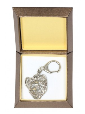 Papillon - keyring (silver plate) - 2821 - 29944