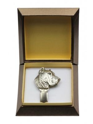 Perro de Presa Canario - clip (silver plate) - 2567 - 28148