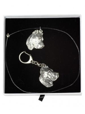 Perro de Presa Canario - keyring (silver plate) - 2000 - 15927