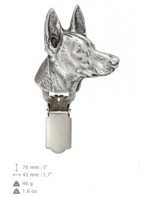 Pharaoh Hound - clip (silver plate) - 690 - 26476