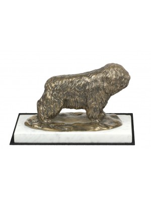 Polish Lowland Sheepdog - figurine (bronze) - 4625 - 41552