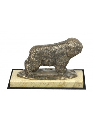 Polish Lowland Sheepdog - figurine (bronze) - 4672 - 41787