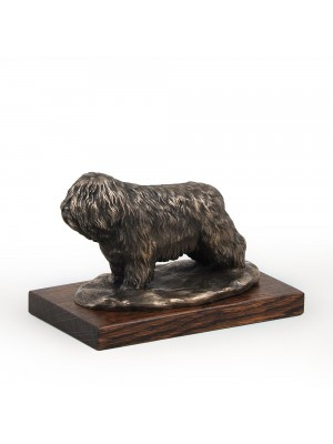 Polish Lowland Sheepdog - figurine (bronze) - 614 - 3127