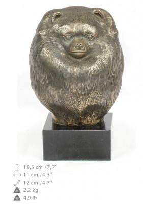 Pomeranian - figurine (bronze) - 267 - 22095