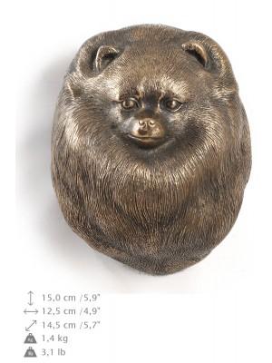 Pomeranian - figurine (bronze) - 555 - 9913