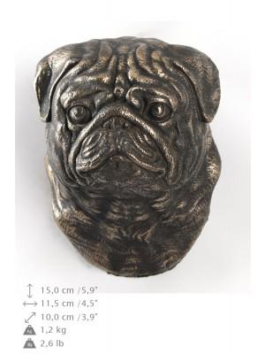 Pug - figurine (bronze) - 557 - 9915