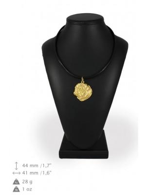 Pug - necklace (gold plating) - 891 - 31177