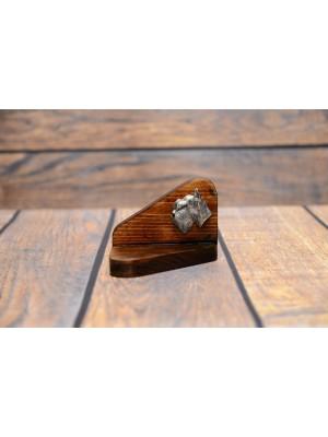 Schnauzer - candlestick (wood) - 3564 - 35724