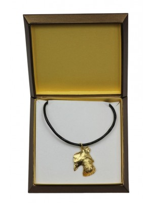 Scottish Terrier - necklace (gold plating) - 2501 - 27660